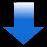 fléche bleu
