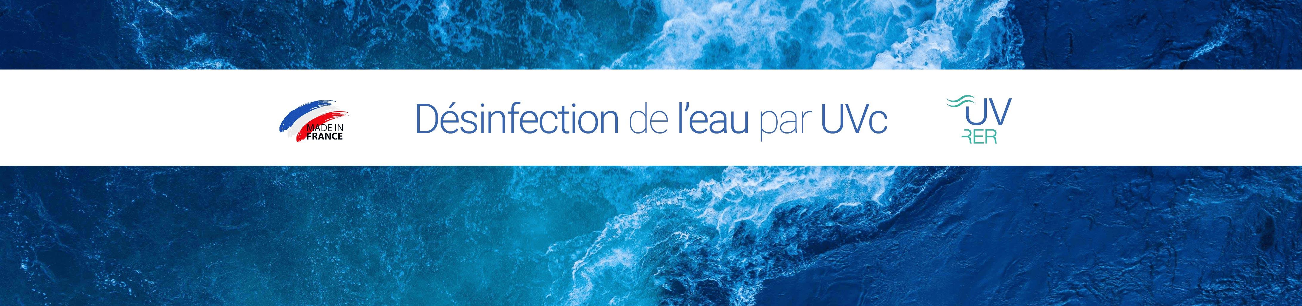 Désinfection de l'eau par UVc