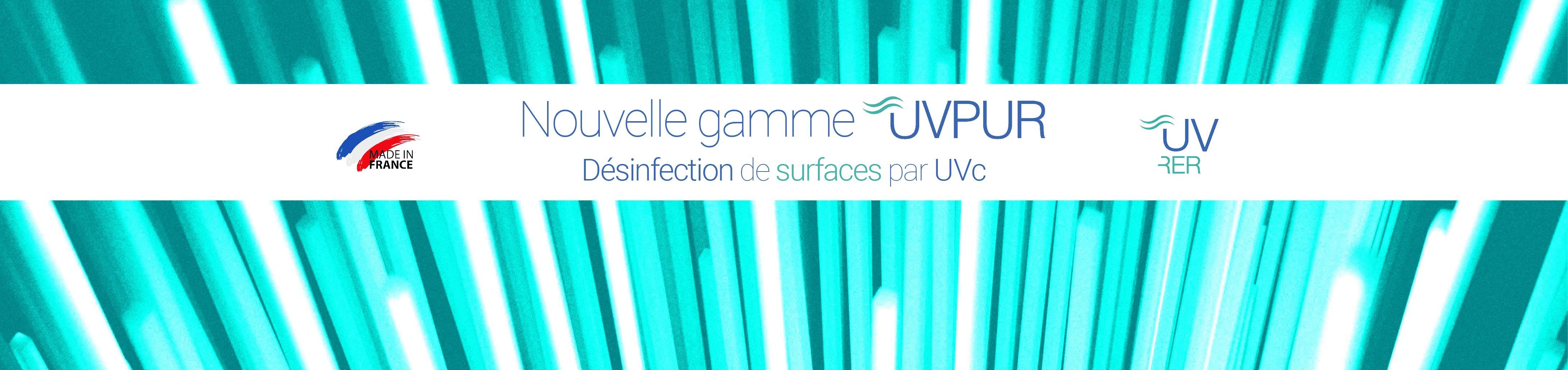 Désinfection de surfaces par UVc